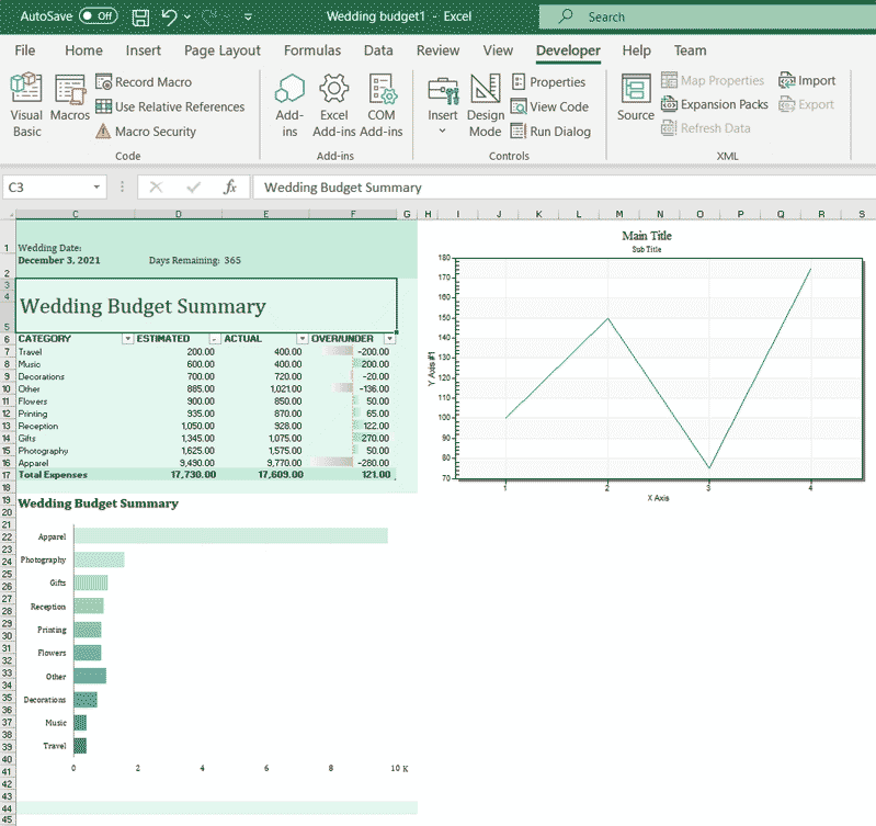 Excel charting activex adding ocx step 4.