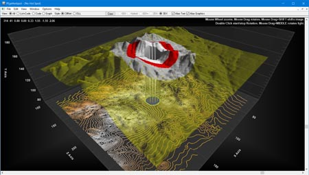 Delphi Chart 3d surface scatter wireframe terrain